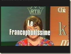 le francophonissime 1